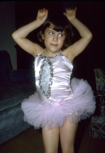 Elizabeth hoping to be a ballerina about 1975(ish)