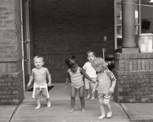 Kids at the Gaddy Center coming out for Water Play Day!! copyright Elizabeth Galecke Photography 2009